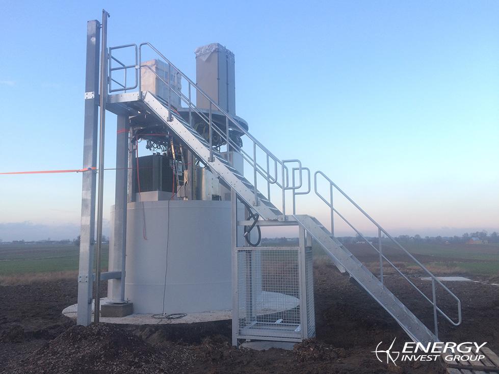 Montaż turbin<br />EIG 4 i 5