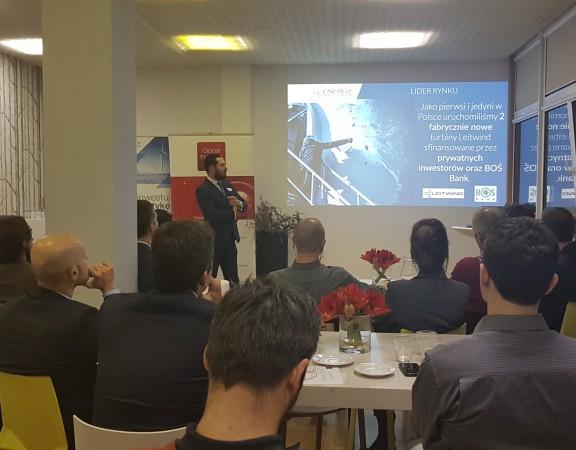 Prezentacja EIG podczas spotkania Global Investors Club w Warszawie